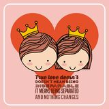 Love card Royalty Free Stock Photography