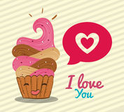 Love card design Stock Photo