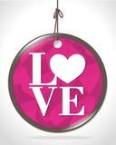 Love card design, vector illustration eps 10. Stock Photo