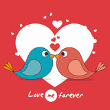 Love card design, vector illustration eps 10. Royalty Free Stock Images