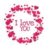 Love card design, vector illustration eps 10. Stock Image
