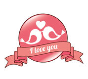 Love card design, vector illustration eps 10. Stock Photos