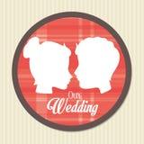 Love card design, vector illustration eps 10. Stock Photography