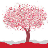 Love card design. Wedding or Valentine. EPS 8 Royalty Free Stock Photography