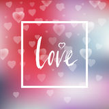 Love card21 Royalty Free Stock Photos