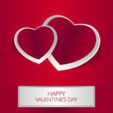 Love card Happy Valentines Day Stock Images