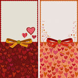 Love card template Stock Images