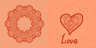 Love card. Valentine flayer template. Wedding Royalty Free Stock Photo