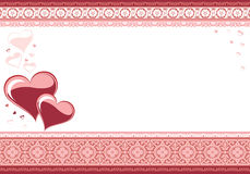 Love card. The valentine's day Royalty Free Stock Photos