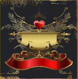 Love card. The valentine's day Royalty Free Stock Photo