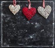 Love card. Valentine`s Day postcard. Royalty Free Stock Photos