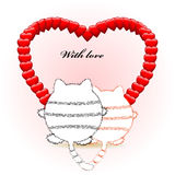 With love Royalty Free Stock Images