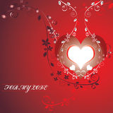 Love card. Vector. Stock Photography