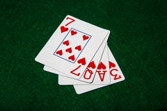 Love Cards Stock Images