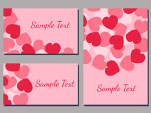 Love cards Stock Photos