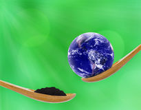 Love and Care The Earth Concept. Elements of this Image Furnished by NASA Stock Photo