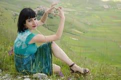 Love Castelluccio di Norcia Stock Images