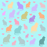 Love cats Royalty Free Stock Photography