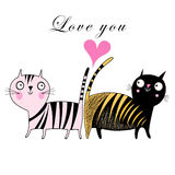 Love cats Royalty Free Stock Photos