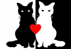 Love Cats Royalty Free Stock Photo