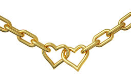 Love chain Royalty Free Stock Photos