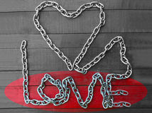 Love chain Stock Photo