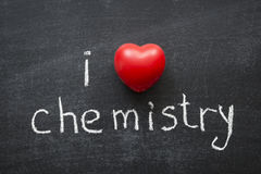 Love chemistry Royalty Free Stock Photography