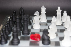 Love chess Royalty Free Stock Photography