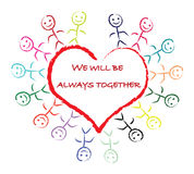 Love children Stock Image