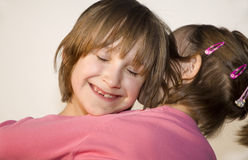 Love of children - sisters Stock Image