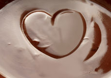 Love chocolate Stock Photo