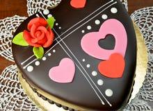Love Chocolate, Rich Velentine Stock Photography