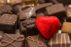 Love chocolates Stock Photography