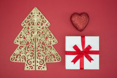 Love Christmas enjoy sale and shopping boxing day Royalty Free Stock Photos