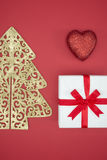 Love Christmas enjoy sale and shopping boxing day Royalty Free Stock Photo