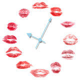 Love clock Royalty Free Stock Images