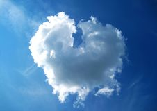 The love cloud Stock Image