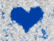 Love Clouds Royalty Free Stock Photos