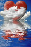 Love in the Clouds Stock Photo