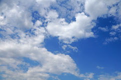 Love on the clouds. Royalty Free Stock Images