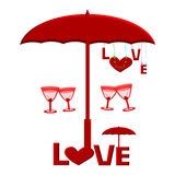 Love Cocktail Stock Images