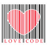 Love code Royalty Free Stock Images