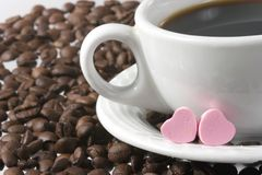 Love coffee Stock Photo
