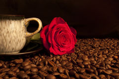 Love Coffee 2 Royalty Free Stock Images