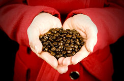 Love coffee Royalty Free Stock Images