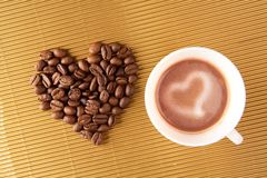 Love for coffee Stock Photo