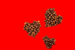 Love for coffee  2 Royalty Free Stock Photography