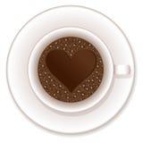 Love coffee cup Stock Photos
