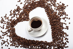Love Coffee Royalty Free Stock Photography