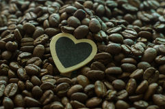 Love Coffee. The expression of my love of coffee Royalty Free Stock Images